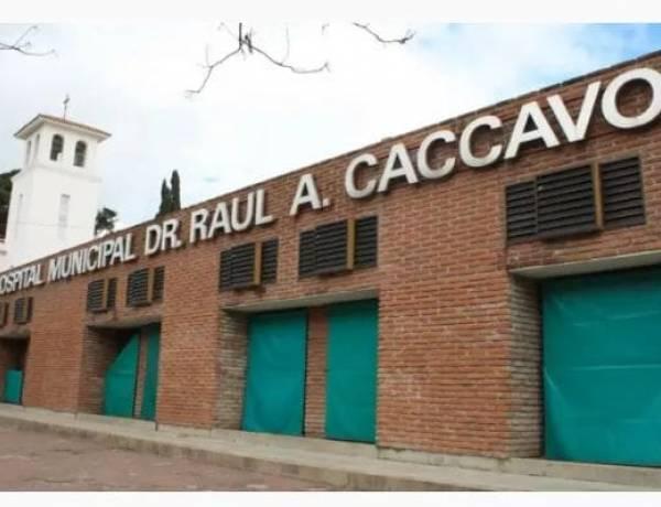Información que surge desde el Hospital Dr. Raul Caccavo!!