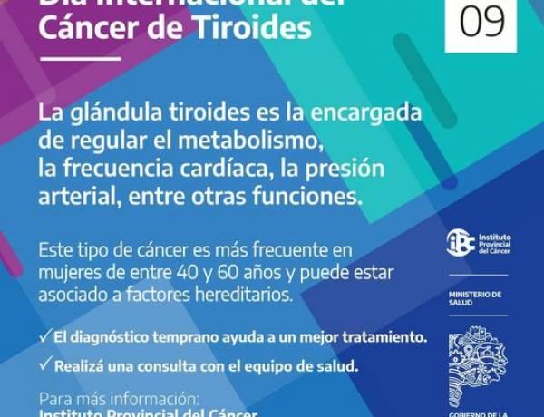 Dia Internacional del Cáncer de Tiroides