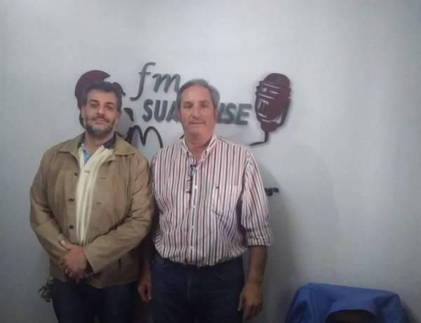 Dos candidatos del frente ''Juntos'' pasaron por los estudios de FM SUARENSE 101.9 en una interesante entrevista
