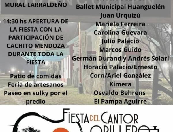 La Jefa de Cultura en Huanguelén, Lorena Villar, nos contó lo que se viene en la fiesta del Cantor Orillero