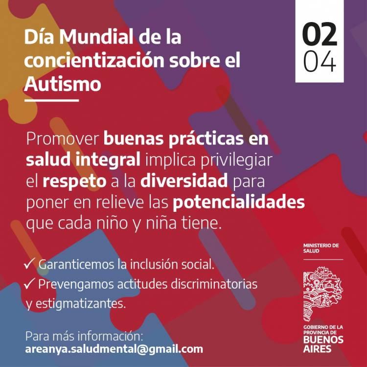 DÍA MUNDIAL DE CONCIENTIZACIÓN SOBRE EL AUTISMO