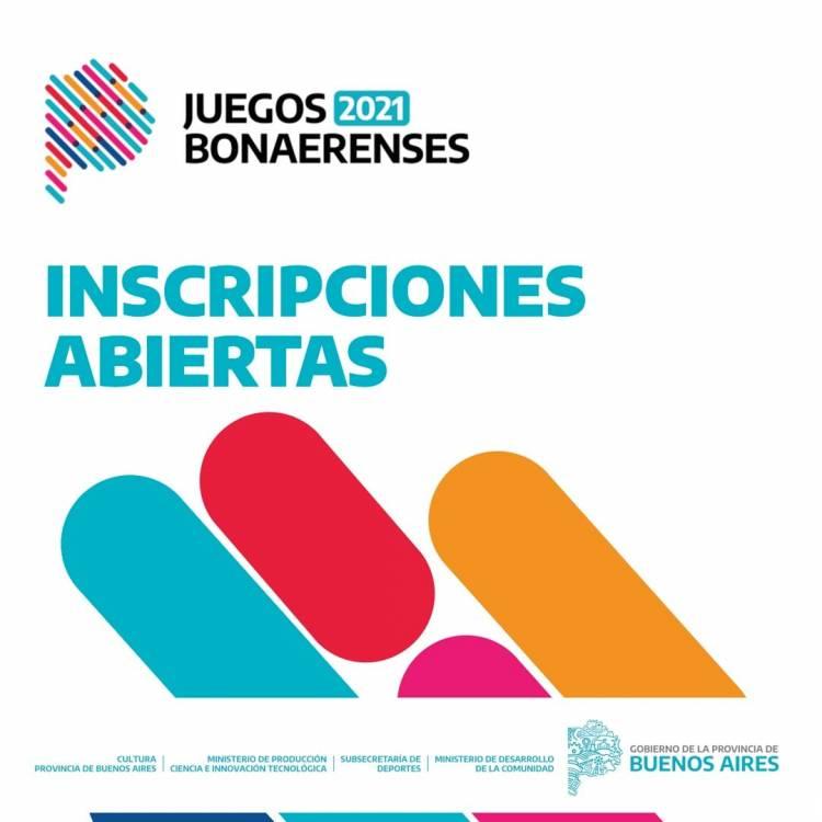 Comenzó la inscripción a los JUEGOS BONAERENSES 2021