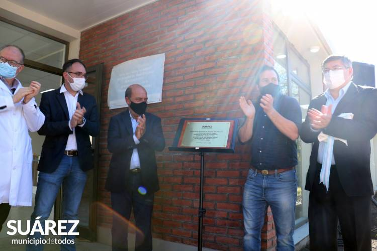 Inauguración del Materno Infantil del Hospital Municipal Dr. Raúl Caccavo