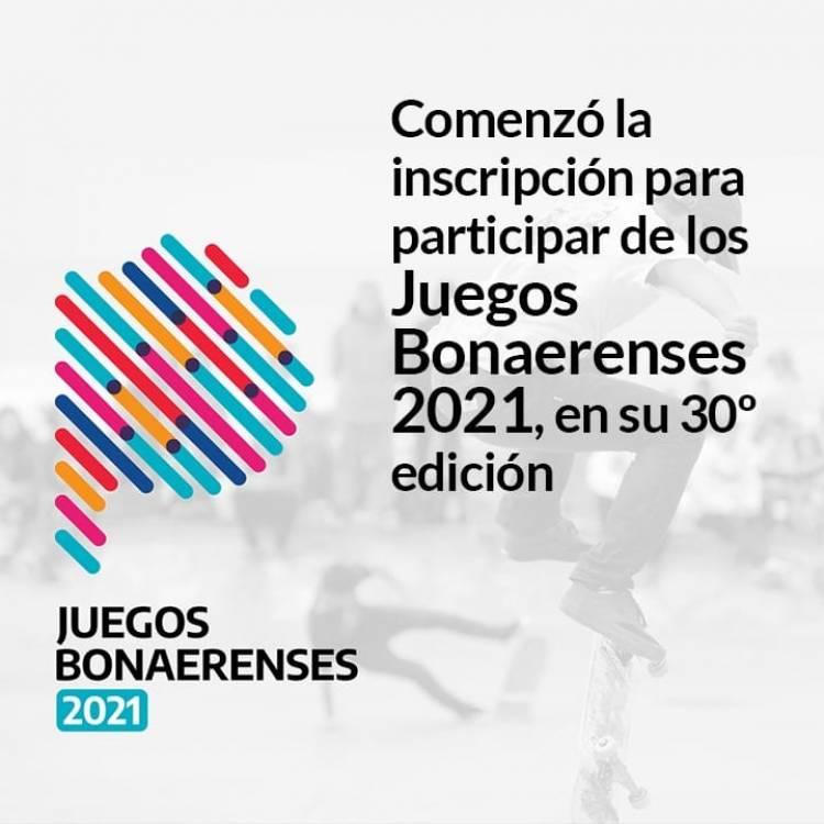 Inscripción para Juegos Bonaerenses 2021