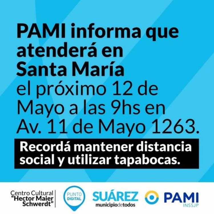 PAMI en Pueblo Santa María