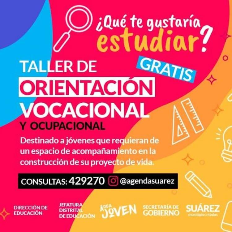 El Municipio impulsa talleres de Orientación Vocacional Ocupacional gratuitos