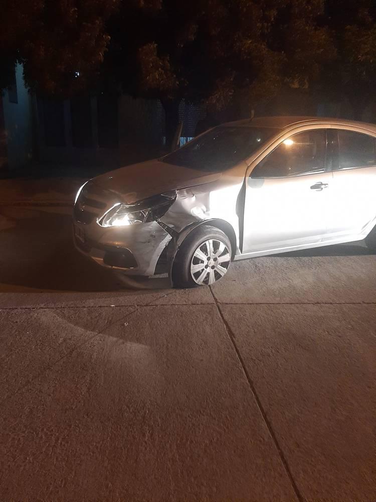Accidente esta madrugada en nuestra localidad