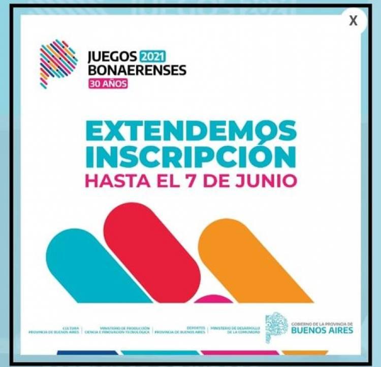 Juegos Bonaerenses: tenes tiempo hasta el 7 de junio para anotarte