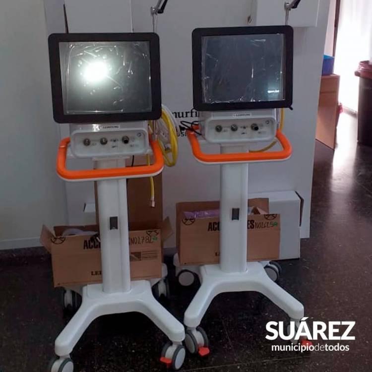 El Ministerio de Salud bonaerense envió 2 nuevos respiradores