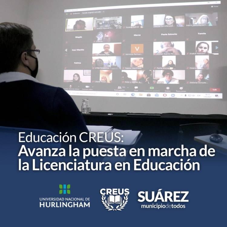 Educación CREUS: Avanza la puesta en marcha de la Licenciatura en Educación⠀