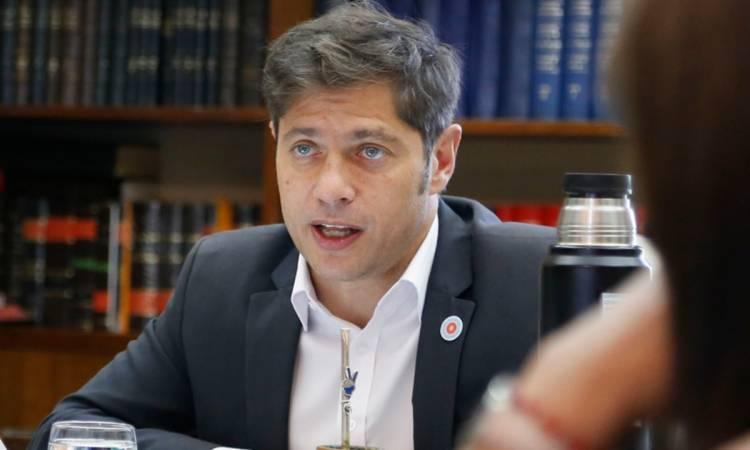 """Kicillof afirmó ser """"optimista"""" con la recuperación económica en la pospandemia"""