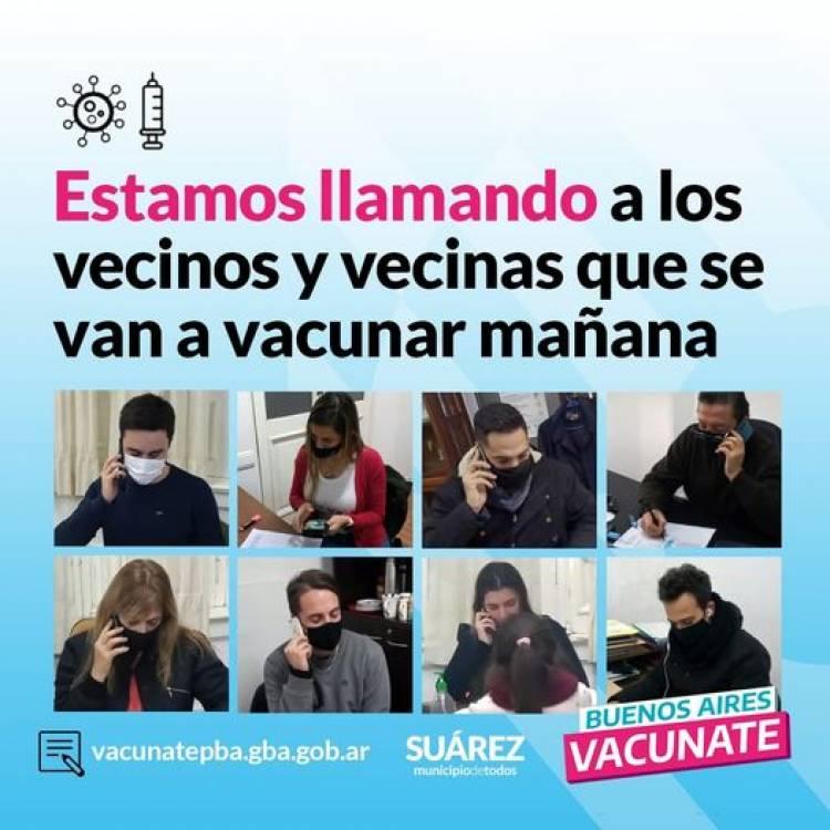 Se están enviando NUEVOS TURNOS para la vacunación para los próximos días