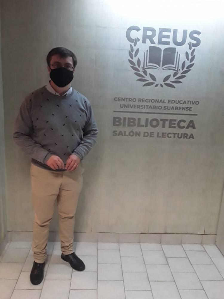 Maximiliano Margiotta y la referencia al bullying, en los micrófonos de FM Suarense