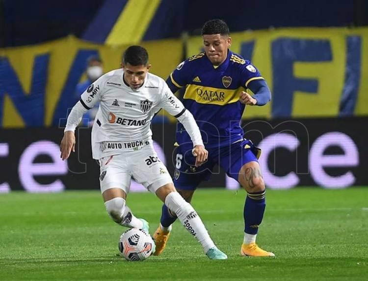 Boca empató con Atlético Mineiro y la llave de octavos de la Libertadores quedó abierta