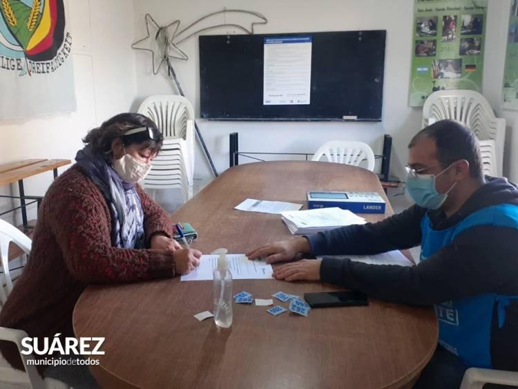 VacunatePBA: Se aplicaron 140 dosis entre Santa Trinidad y Curamalal⠀