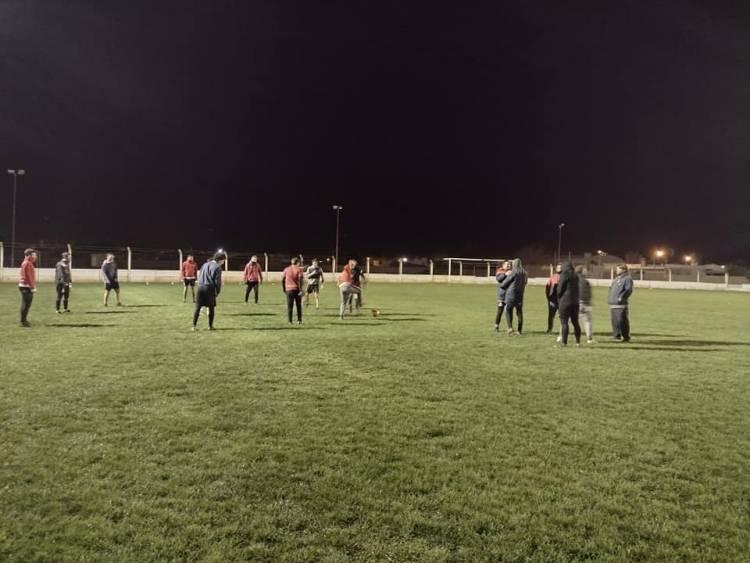 Independiente de pueblo San José arrancó los entrenamientos con nuevo cuerpo técnico