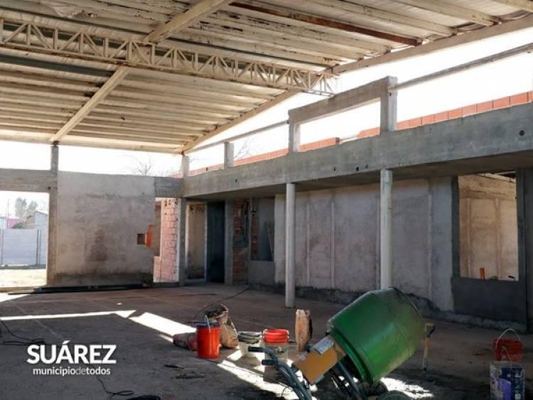 Está en marcha el Jardín de Infantes N°916 en barrio Rosario ⠀