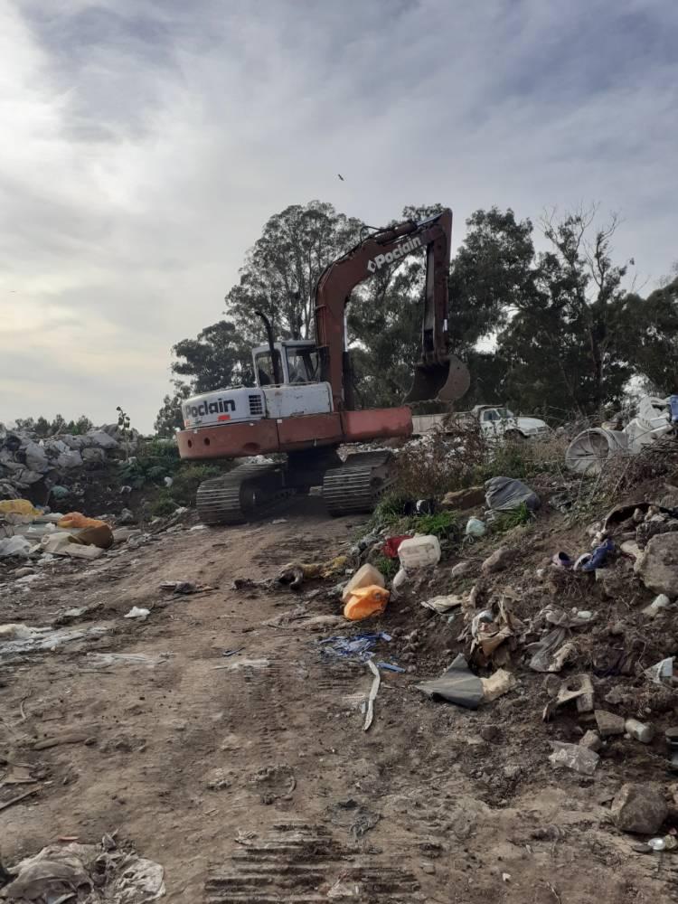 Huanguelén: limpieza integral de la ciudad