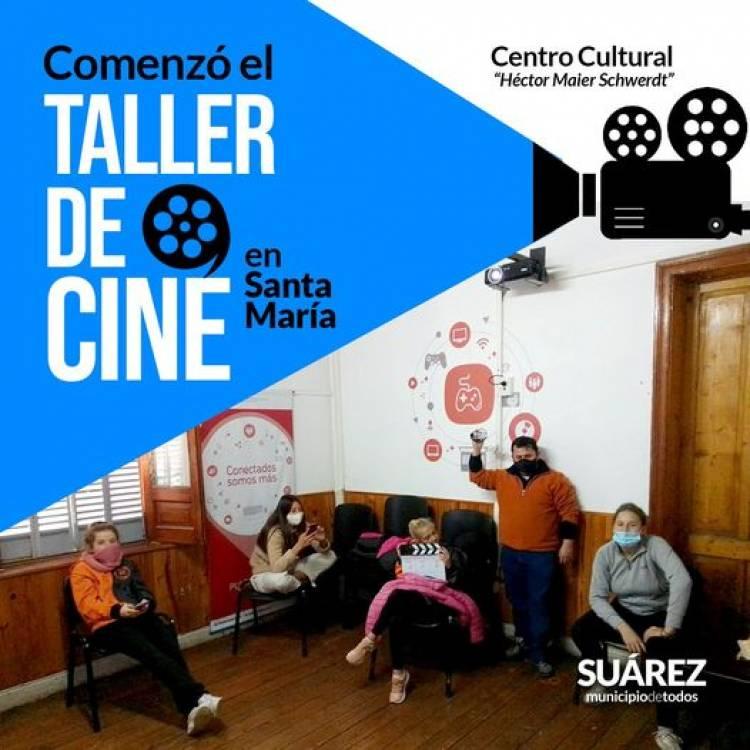 Comenzó el taller de cine en Santa María