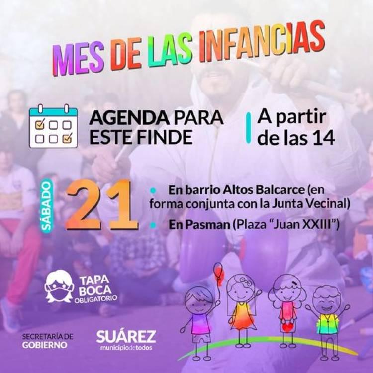 Continúan los festejos por el Mes de las Infancias en Altos Balcarce y Pasman