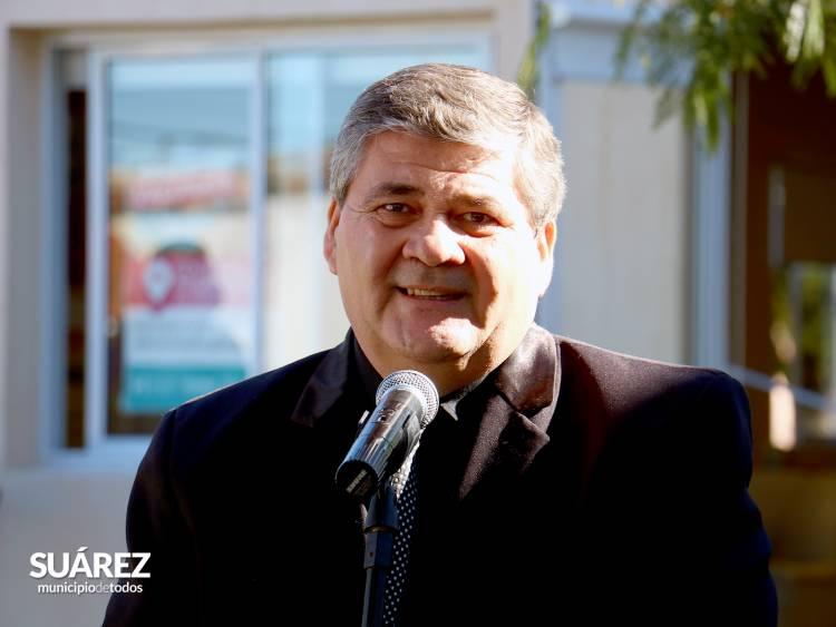 Osvaldo Lezica titular de Adultos Mayores, en los micrófonos de FM Suarense