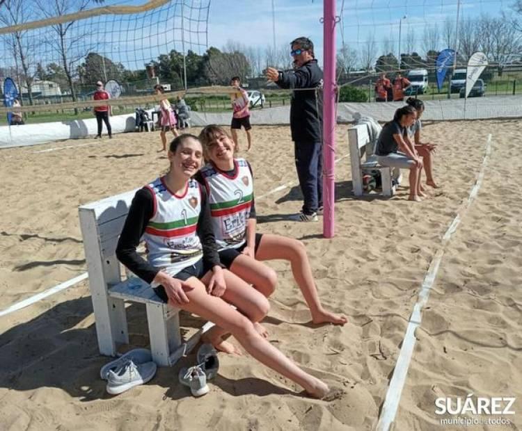 Suarenses en la final de Beach Vóley de los Juegos Bonaerenses