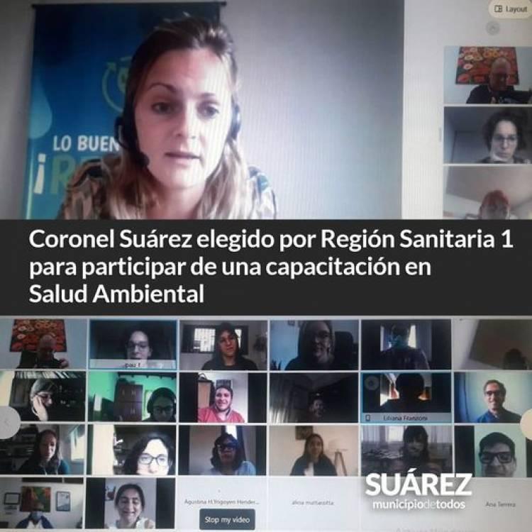 Coronel Suárez elegido por Región Sanitaria 1 para participar de una capacitación en Salud Ambiental