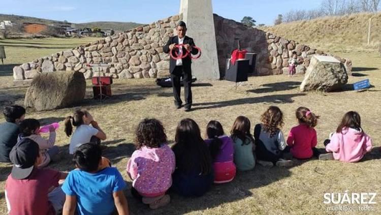 Cerramos el Mes de las Infancias en la comarca turística de Villa La Arcadia