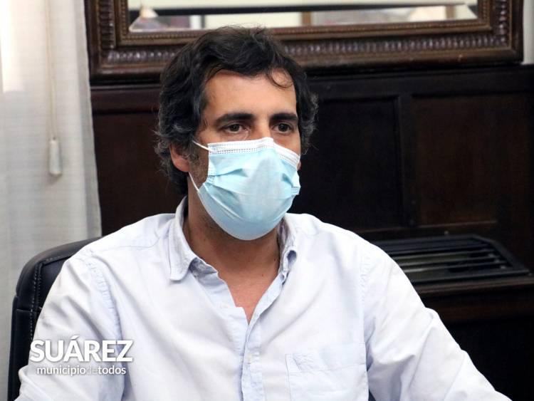 Rodrigo Gasteneguy, el Sub Secretario de Salud en los micrófonos de FM Suarense 101.9 con