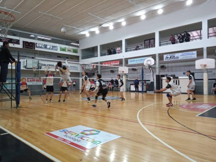 Voley local: se disputó el 2° Torneo de Primera división en la rama masculina