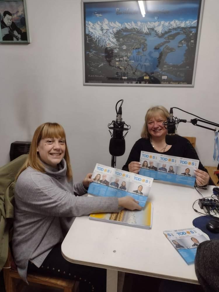 Pasaron por nuestra radio Vanina Tucci y Adriana Erroitzarena, Pre-candidatas a Concejales por ''Frente De Todos''