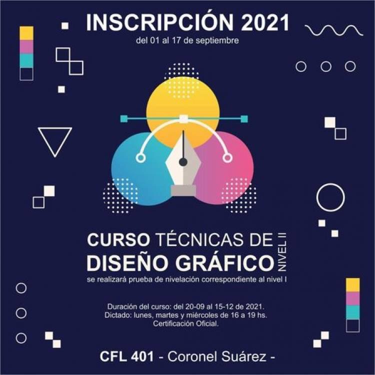 Inscripciones abiertas al curso Técnicas de Diseño Gráfico en Sistemas Informáticos⠀ ⠀