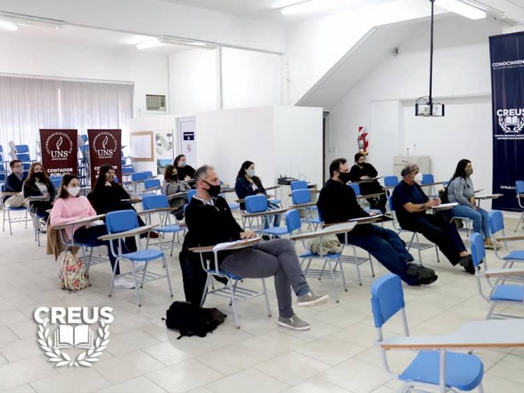 DíaHistórico: Primera clase presencial en CREUS