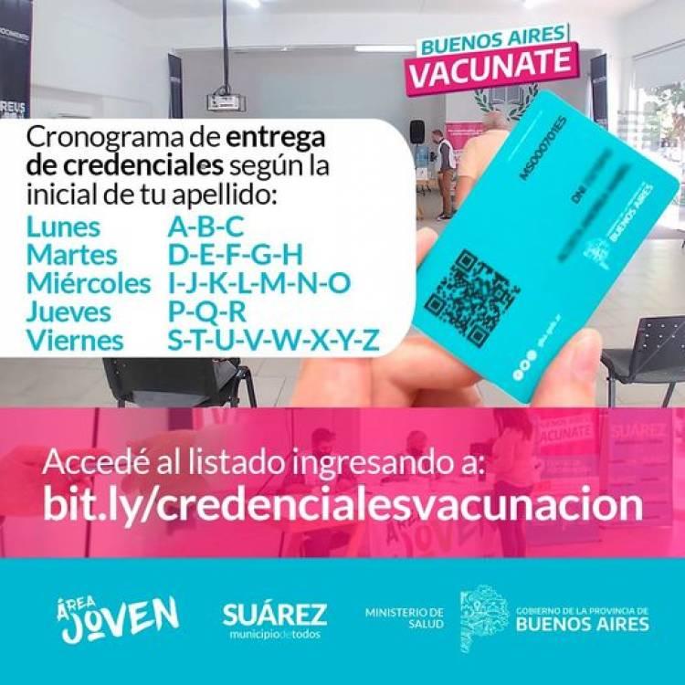 Continúa la entrega de credenciales a personas que registran vacunación Covid